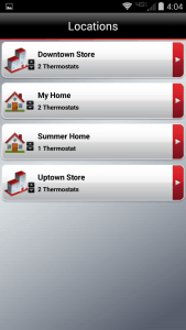 different thermostat locations