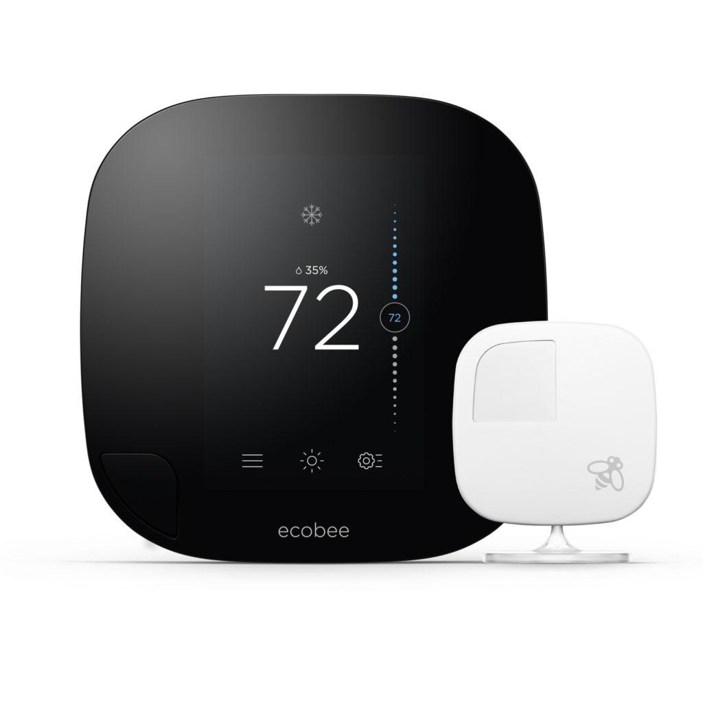Ecobee3 with sensor