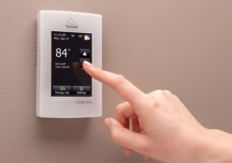 4 Wifi Thermostats For Electric Floor Heat
