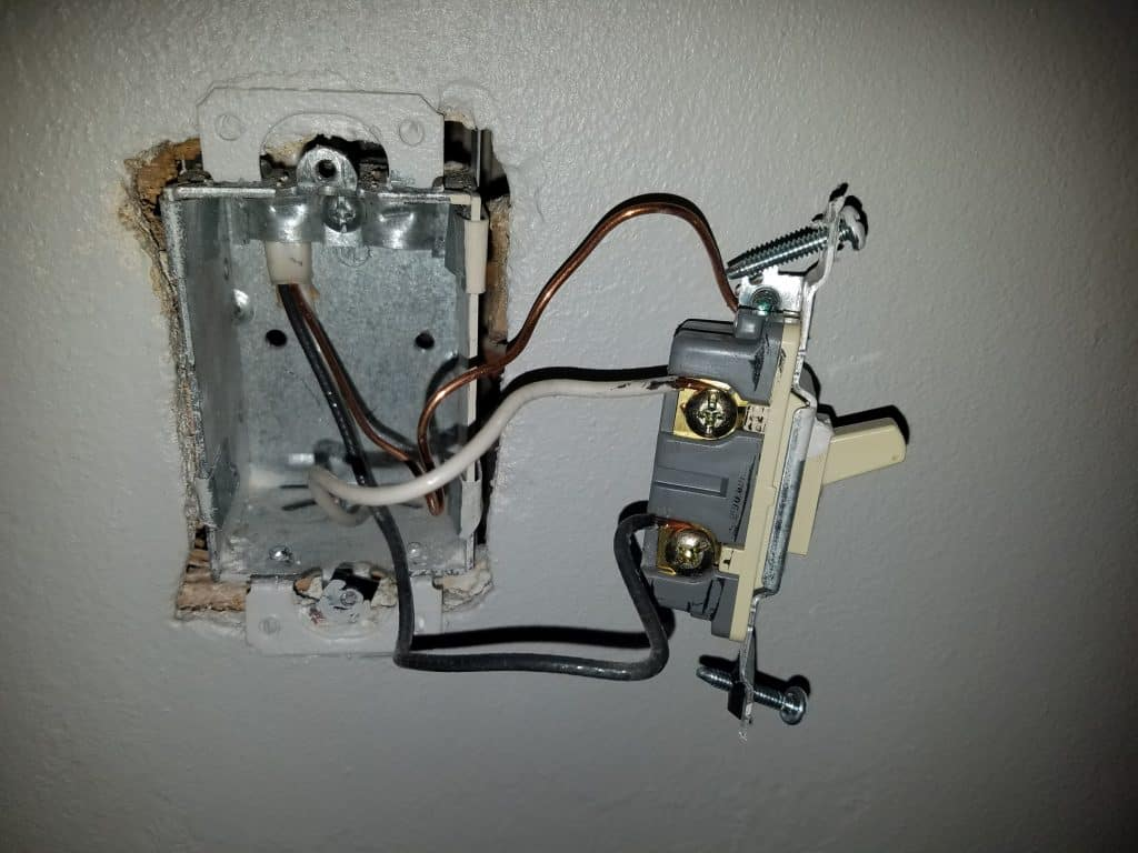 4 Smart Switches That Work With No Neutral Wire on light switch ground not connected, light switch ground test, light switch wiring diagram, light switch not grounded, light switch no cover,